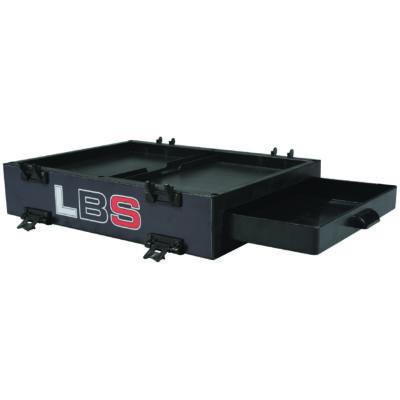 Versenyláda modul, 90 mm magas, oldalfiókkal, ABS alapanyagból