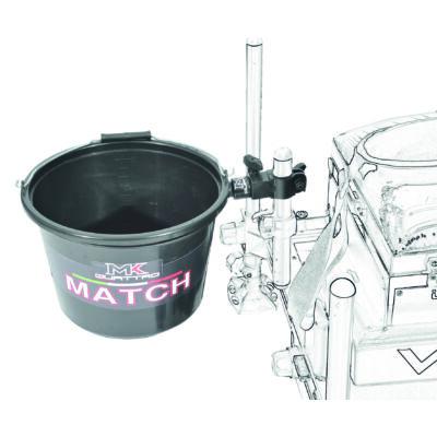 Vödörtartó adapter 12 literes vödörhöz, rapid végződéssel (Rapid felfogó adapter nélkül és vödör nélkül!)