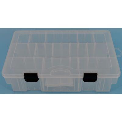Műanyag doboz (átlátszó)