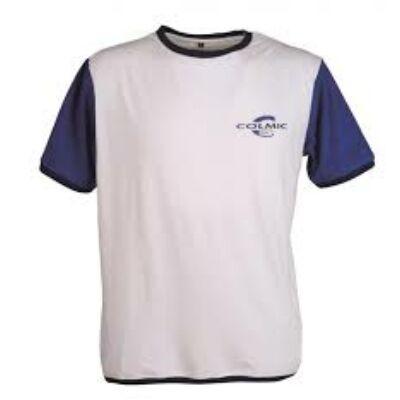 Colmic póló (Fehér-Kék)