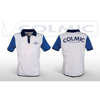 Galléros Colmic póló (Fehér-Kék)