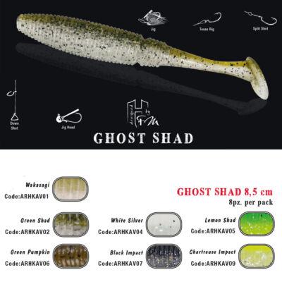 Ghost Shad 8.5 cm
