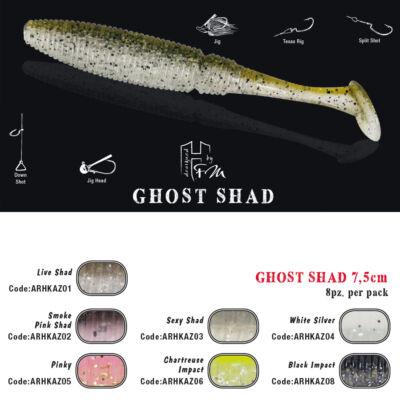 Ghost Shad 7.5 cm