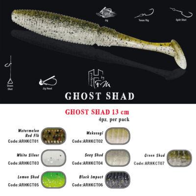 Ghost Shad 13 cm