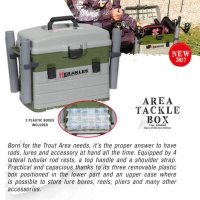 HERAKLES AREA TACKLE BOX szerelékes láda