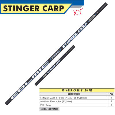 Stinger Carp (11,5 méter)