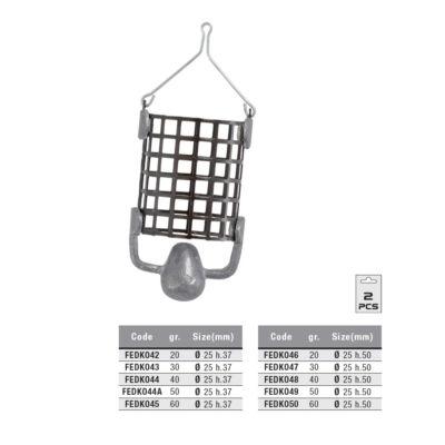 Bullet Cage Feeder (25x37)-20gr