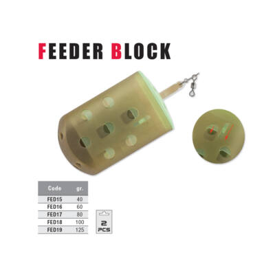 Feeder FK Block-100 gr (2 db)