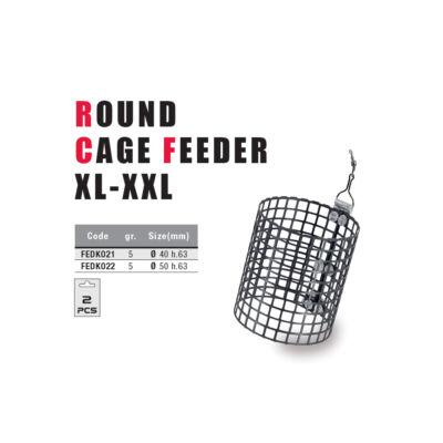 Round Cage Feeder -5gr-XXL (50x63)