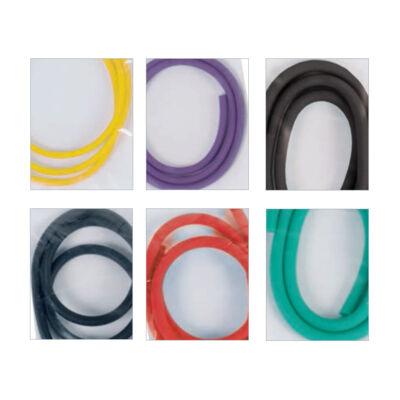 Csúzli gumi: d.3 mm (sárga)