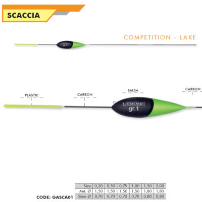 SCACCIA 0,30g-2 g