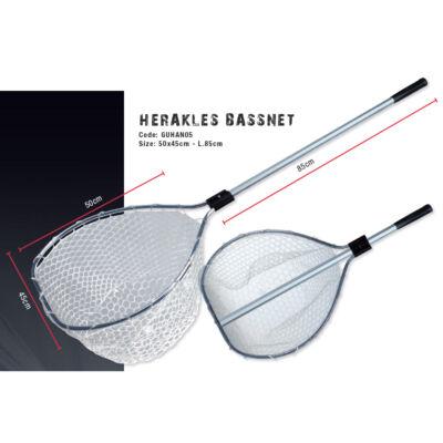 Herakles Bass Net merítőszák (50x45 cm L.85 cm)