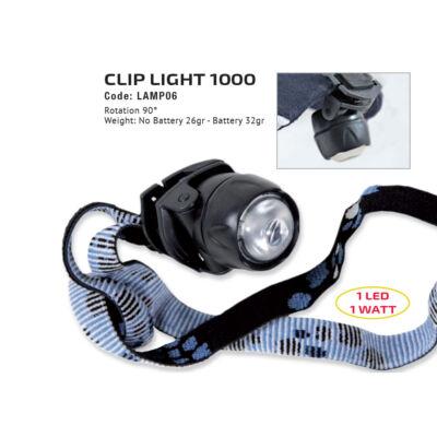 Fejlámpa: Clip Light 1000