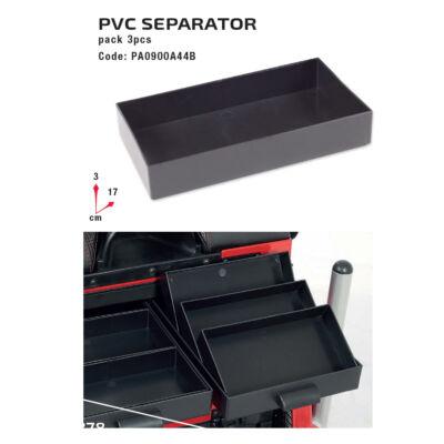 PVC tároló