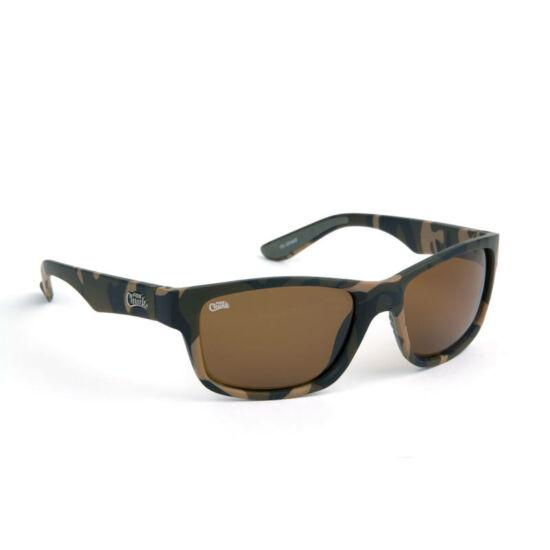 Fox Chunk Sunglasses Camo / brown lense /barna lencsés/