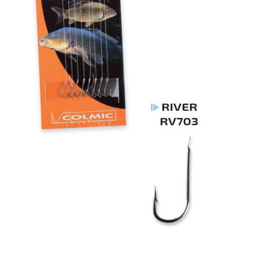 River RV703 előkötött horog