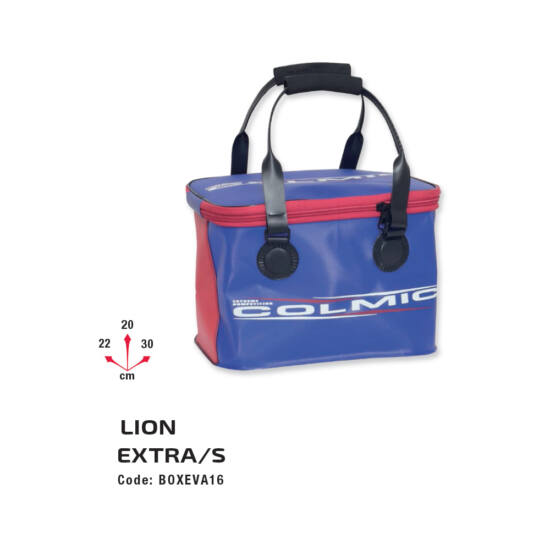 PVC-Lion Extra Small (30x22xh.20)