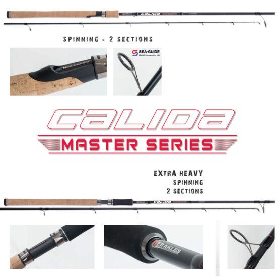 "Extra Heavy Spinning, 2 részes, Calida ""Master Series"": HCS2-240XH 8'-30/90gr"