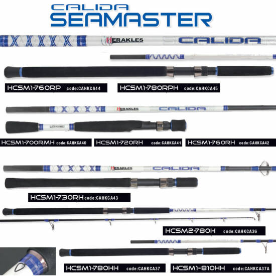 """Calida """"Sea Master"""": HCSM1-700RMH  (egyrészes, plusz nyél)"""