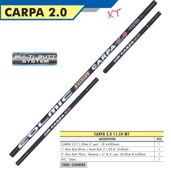 CARPA 2.0 11,50mt