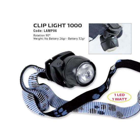 Clip Light  1000 fejlámpa